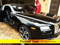 Personal Touch Detailer Houston's Bets Auto Detailing and Luxury Car Spa Full inside and out mobile detailing services.